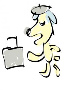 神戸・芦屋・西宮のカウンセリング:ビジネスマンぽい犬